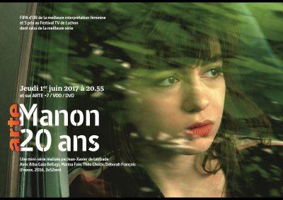 """""""Manon 20 ans"""" de Jean-Xavier de L'Estrade - Production : Images et Compagnie"""